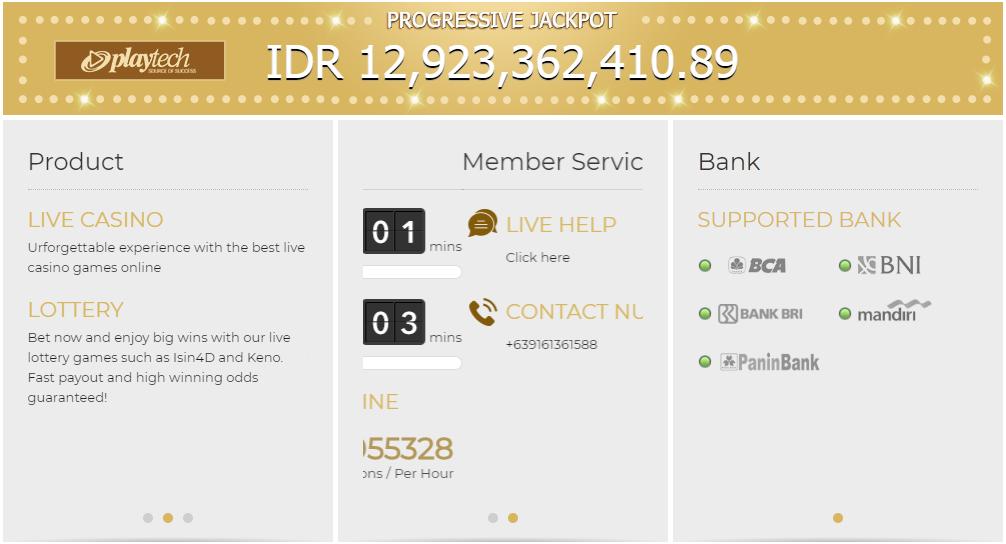 Bandar Judi Casino Terpercaya Indonesia